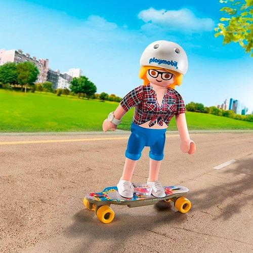 playmofriends adolescente con skate 49338 - playmobil