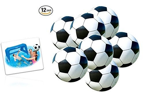 05ce8a9d09ad4 Playo Inflables Fútbol Bolas - 9 Pulgadas Bolas De Playa - 1 ...