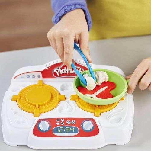 playset cozinha fogão massinha play doh hasbro b9014 + nfe