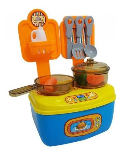 playset maletita accesorios cocina juguete niños nuevo