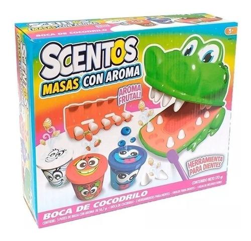 playset scentos boca de cocodrilo dentista masas con aroma