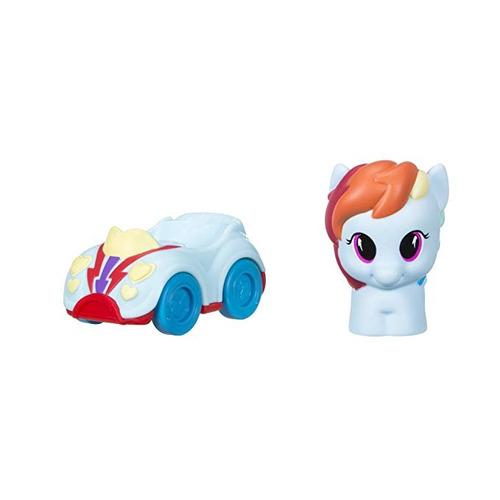 playskool amigos my little pony rainbow dash figura y vehícu