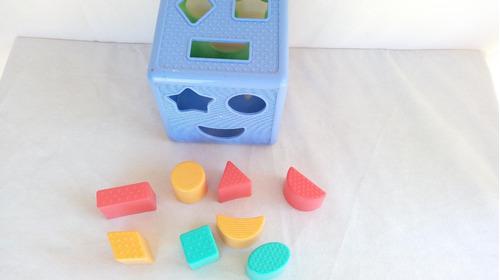 playskool cubo c/ formas geometricas de encaixar hasbro