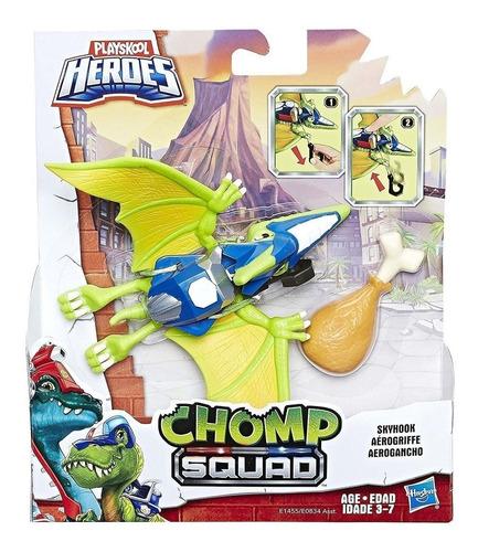 playskool heroes - chomp squad aerogancho (6438)