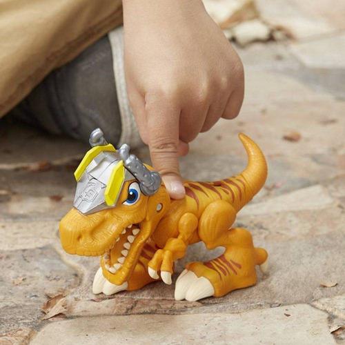playskool heroes - chomp squad rebocossauro (6438)