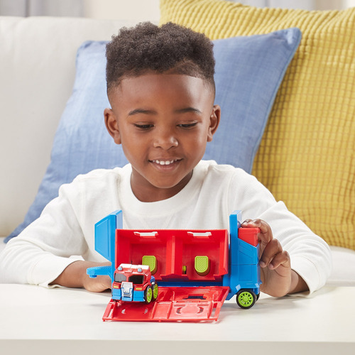playskool heroes transformers - robô rescue bots academy - l