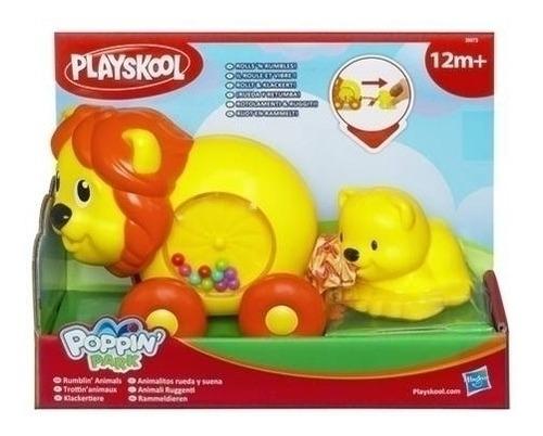 playskool leon animals ruidosos a cuerda park hasbro bigshop