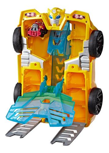 playskool transformers rescue bots academy - torre bumblebee