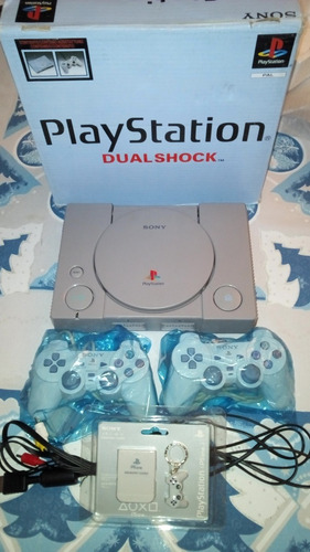 playstation 1 nuevos+4 juegos 50 verdes ultimas 2 disponible