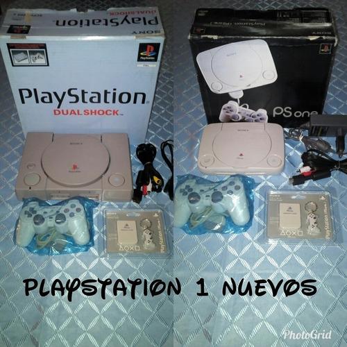 playstation 1 nuevos+control+3 juegos+memory 60 lechugas
