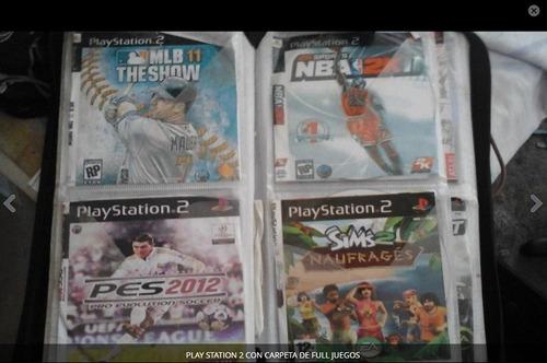 playstation 2 caja y ful juegos