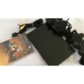 Playstation 2 Desbloqueado Com 2 Controles