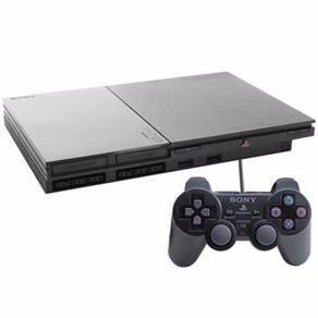 playstation 2 desbloqueado+memory card+1controle novo+5 jogo