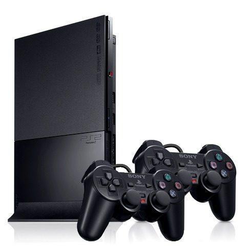 playstation 2 desbloqueado ps2 + 10 jogos + brindes