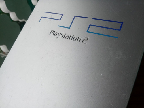 playstation 2 fat prata europeu (pal) puro travado ps2 220v