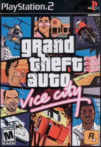 playstation 2: grand theft auto: vice city