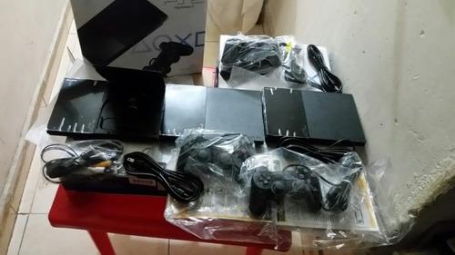 playstation 2 original nuevos  de fabrica sony 2 cotroles