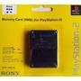 Memoria Sony 8mb Para Ps2 Playstation 2. Nueva Sellada
