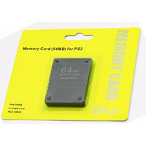 Memoria 64mb Play Station 2 Ps2 Cualquier Modelo Memory Card
