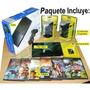 Play Station Ps2 2 +2mandos+memoria+juegos Chipeado