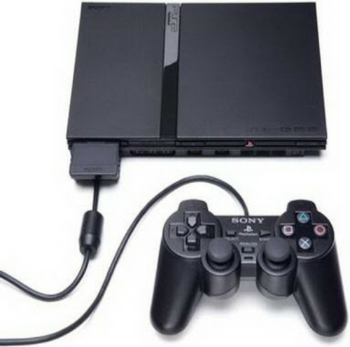 playstation 2 ps2 novo destravado 2 controles 1 memory card