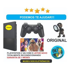Playstation 2 Slim Destravado Original