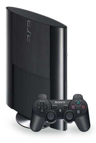 playstation 3 + 2 joystick + 65 juegos + 500gb - local  !!!