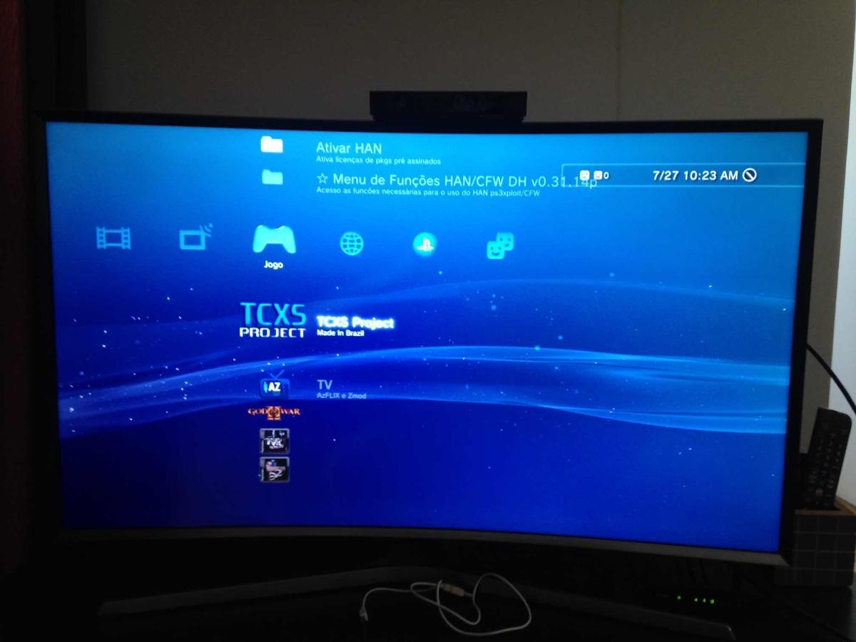 Playstation 3 - 320 Gb - Gta 5 Fifa Pes 18 Xploit God Of War