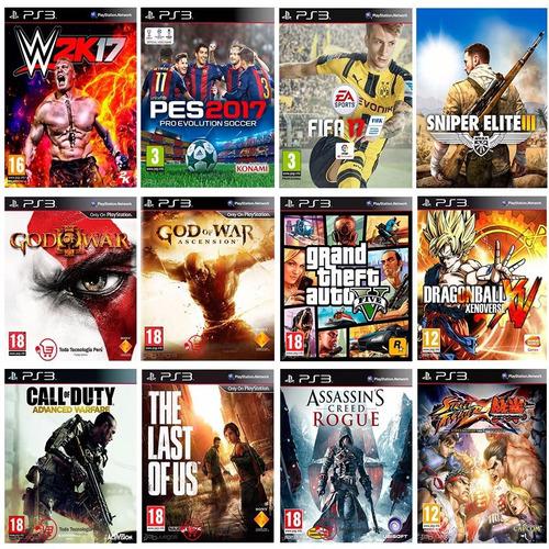 playstation 3 500gb flasheado + 20 juegos envíos todo perú