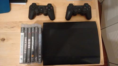 playstation 3 + controles + juegos