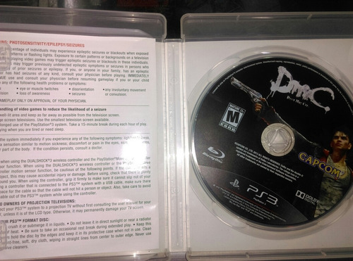 playstation 3 originales call duty, dmc