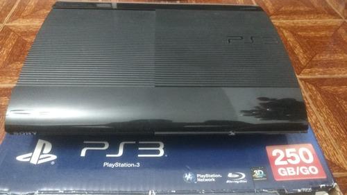 playstation 3 (ps3) 2 controles 250gb