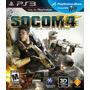 Socom 4: U.s. Navy Seals. Ps3. Nuevo Y Sellado