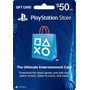Tarjeta Playstation Network Psn Usd 50
