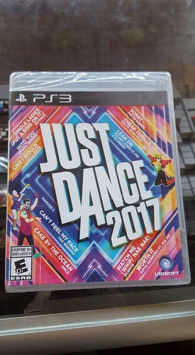 playstation 3 ps3 just dance 2017
