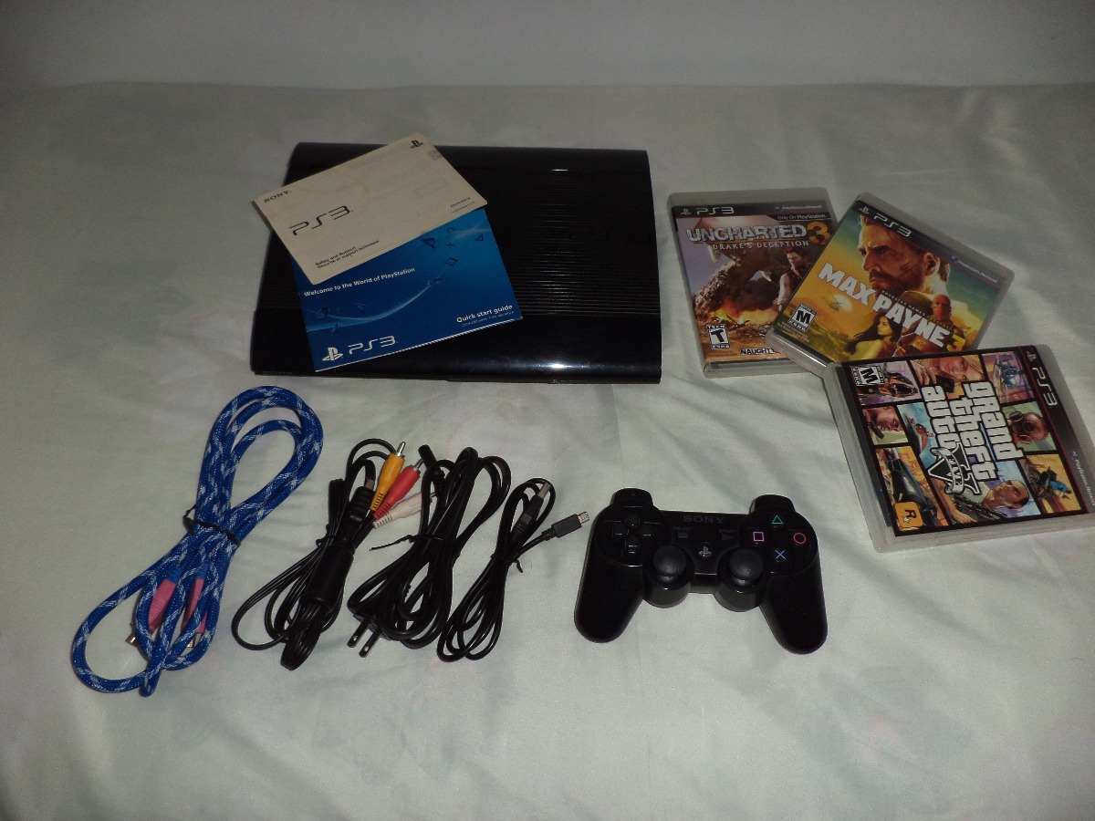 Playstation 3 Ps3 Super Slim 320gb Bs 16000 En Mercado Libre Sony 320 Gb Cargando Zoom