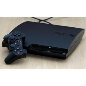 Playstation 3 Slim 160gb 2 Joystick + 10 Juegos-muy Poco Uso
