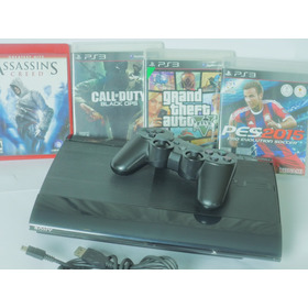 Playstation 3 Super Slim  Ps3 Con Buenos Juegos