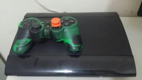 playstation 3 super slim hd 250gb aceito trocas