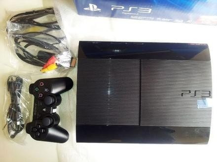 playstation 3 ultra slim 250gb + dualshock ps3 + accesorios