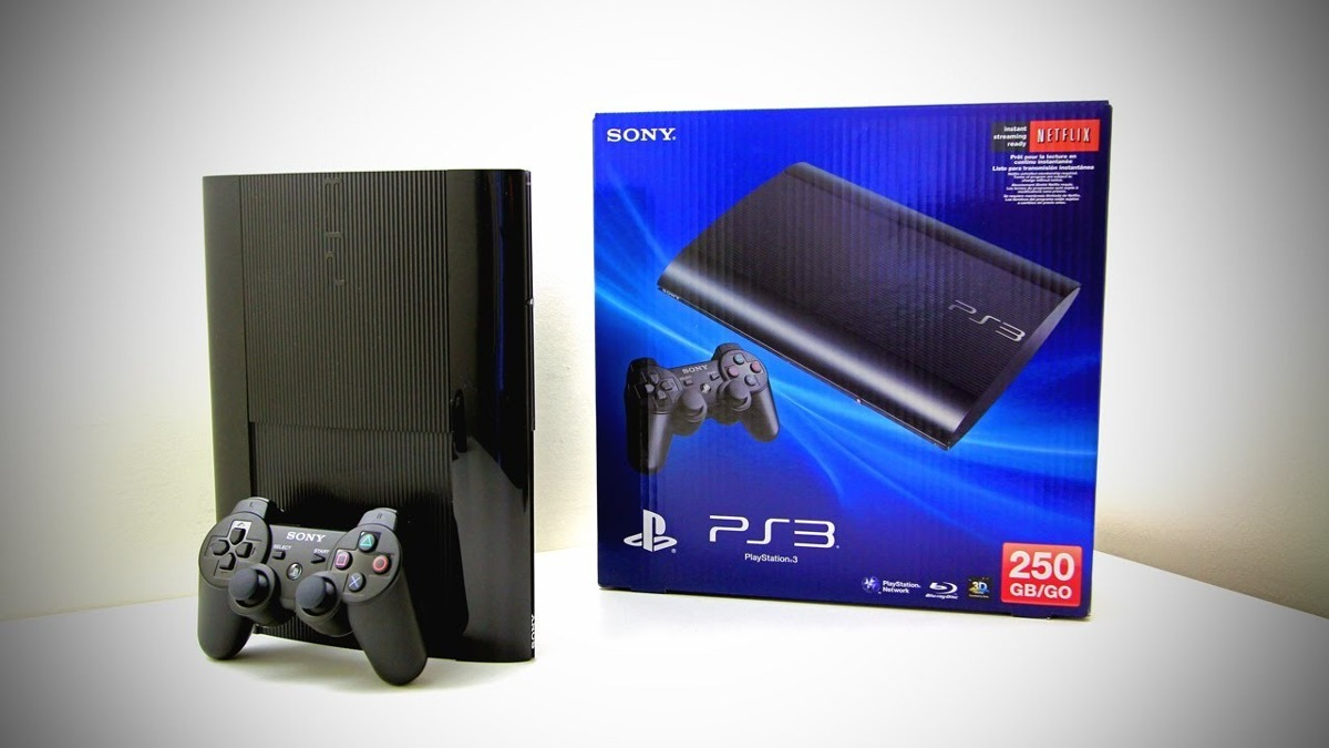 playstation 3 ultra slim 3d hd 250gb blu ray sony r 999 00 em mercado livre. Black Bedroom Furniture Sets. Home Design Ideas