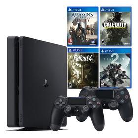 Playstation 4 + 2 Controles + 4 Juegos !!disponible Ya!!