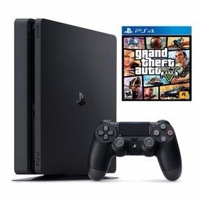 playstation 4 1tb 2 juegos fisicos gta 5 y the last of us