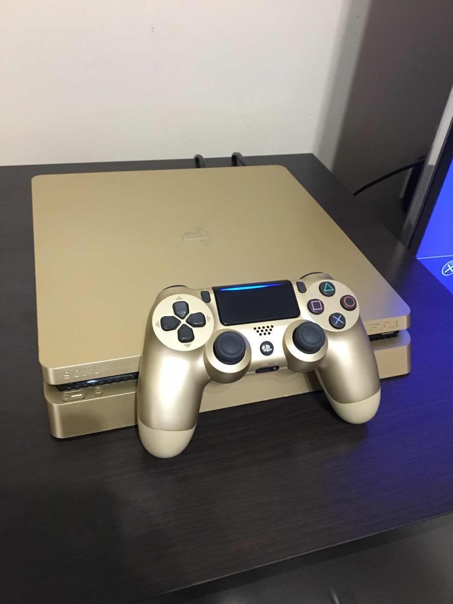 Playstation 4 500gb Gold Edition Bs 40000 En Mercado Libre Ps4 Cargando Zoom