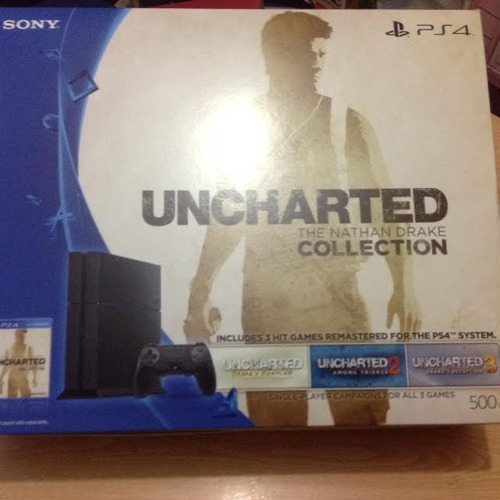playstation 4 500gb uncharted the natham drake coll.