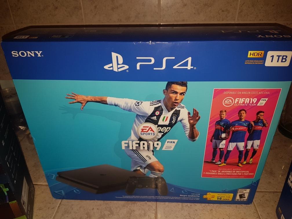 Playstation 4 Fifa 2019 9 Juegos 1tb 7 299 00 En Mercado Libre