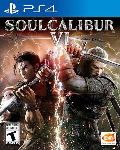 playstation 4  juego soulcalibur vi -  sellado