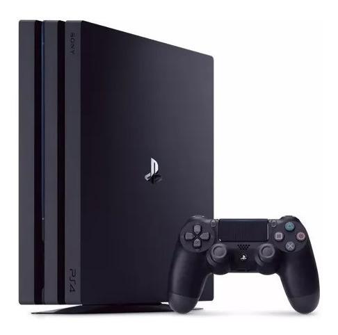 playstation 4 pro 1tb 4k sony chu7215b novo (loja fisica)