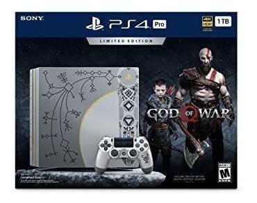 playstation 4 pro 1tb consola de edición limitada god of war