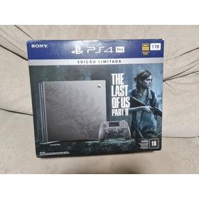 Playstation 4 Pro Edição Limitada The Last Of Us 2